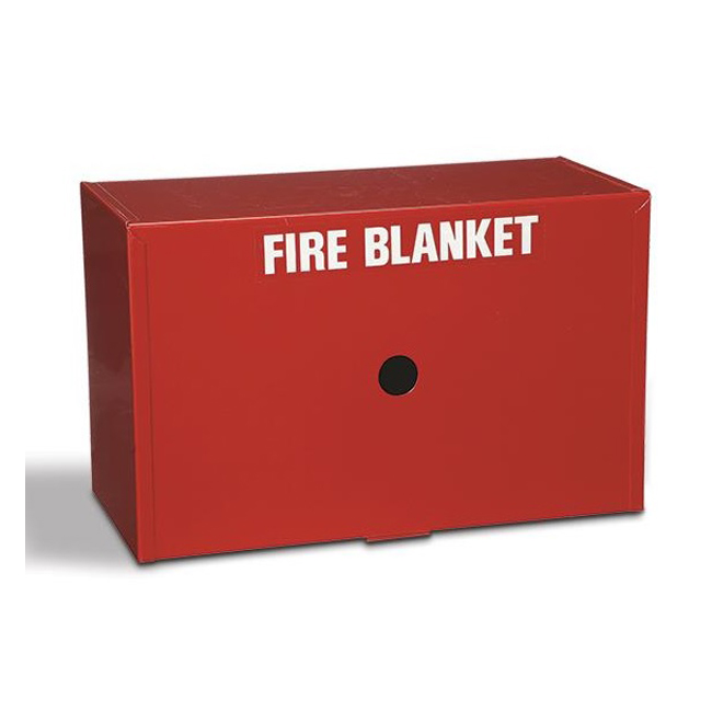 Drop Down Fire Blanket Cabinet Only (Metal) – Western Fire and ...