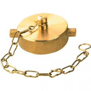 Brass Cap w Chain