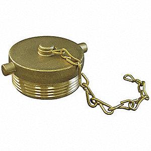 Brass Plug w Chain