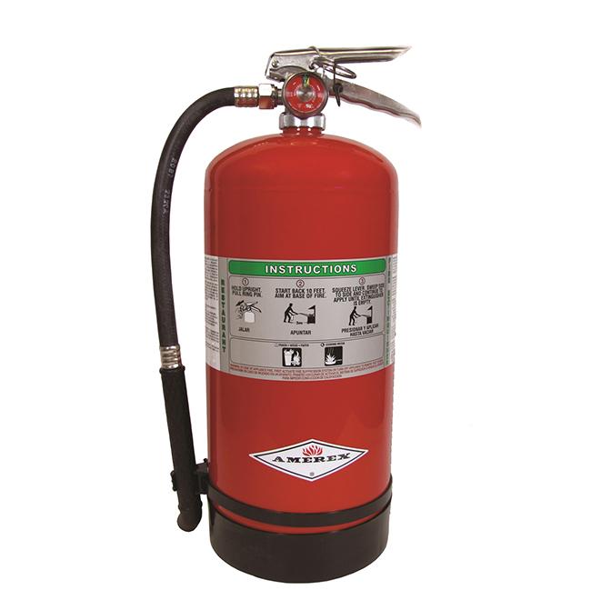 6 Liter Class K Kitchen Fire Extinguisherm Uscg Appr Western Fire And Safety Seattle Wa